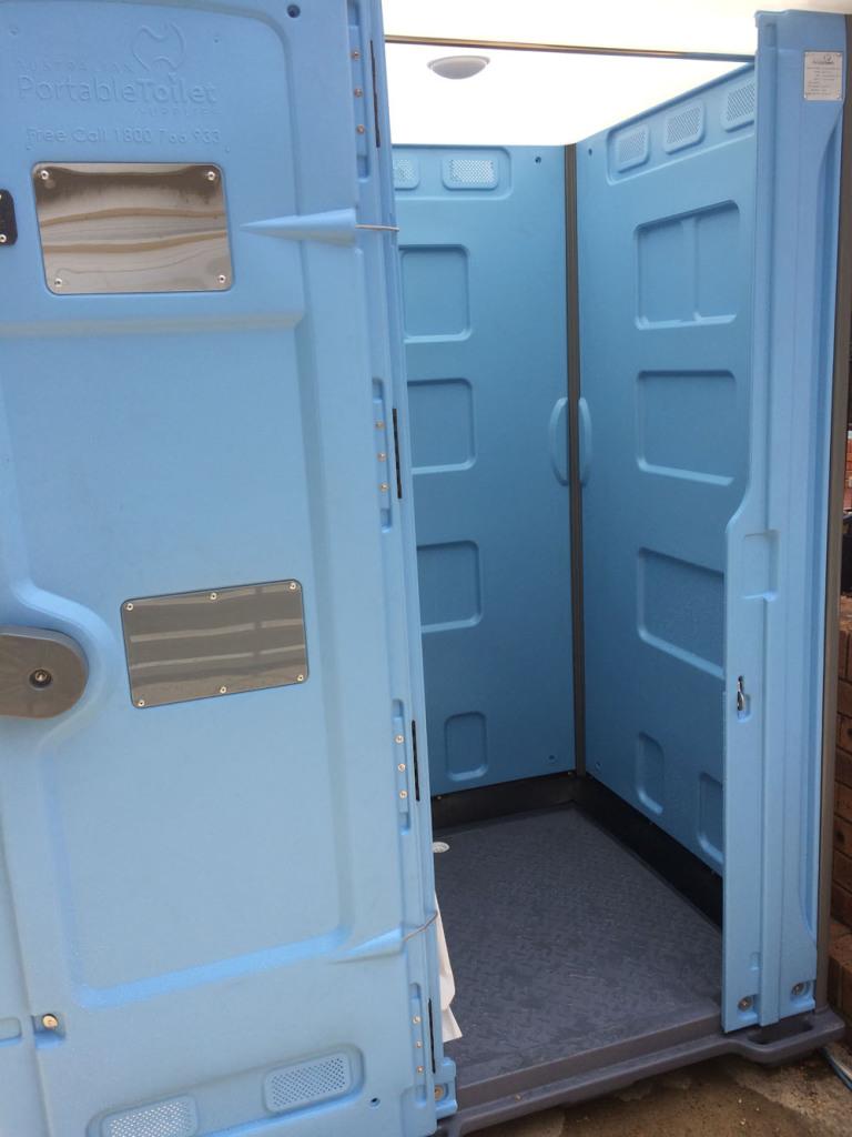 Luxury Portable Shower interior