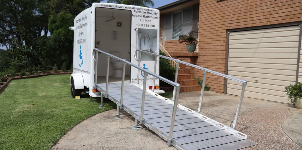 Mobility Accessible Bathrooms Ramp